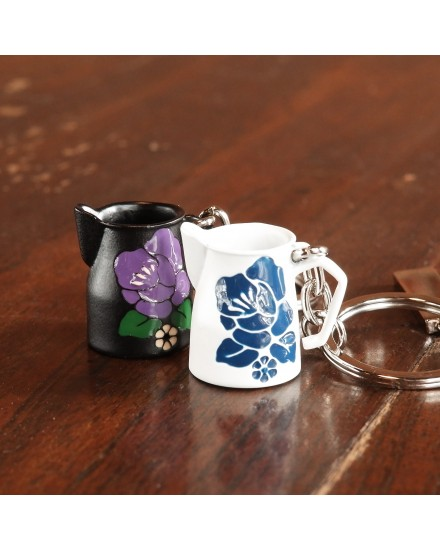 Wholesale keychain metal coffee products