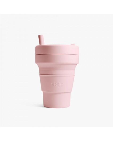 Stojo Biggie 16oz Cup-Carnation