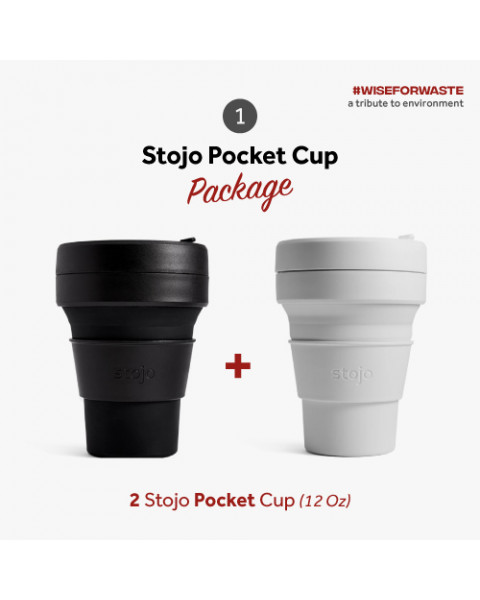 Stojo Pocket Package