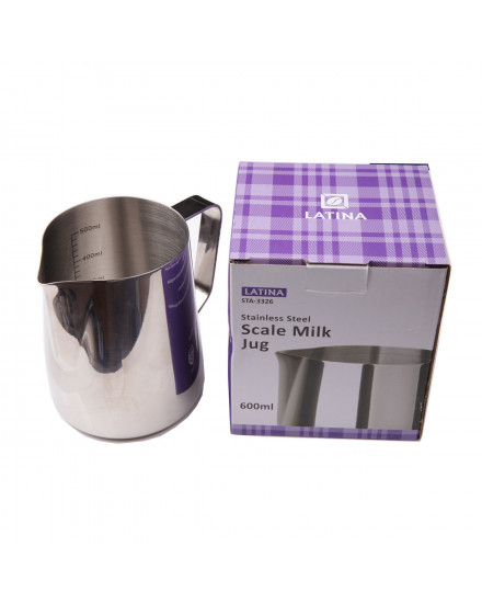 Latina STA-3326 Scale Milk Jug 600 cc