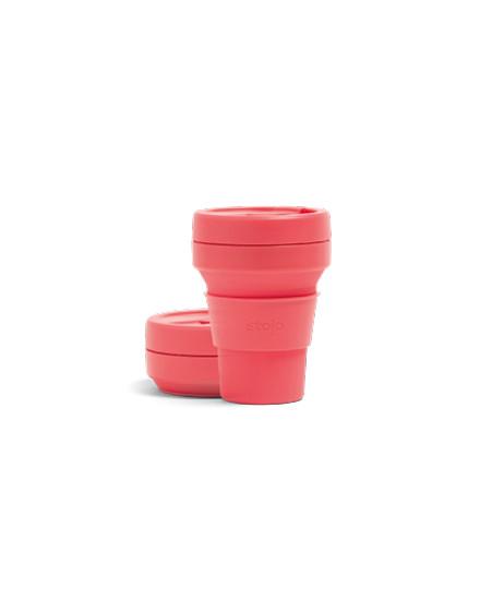 Stojo Pocket Cup 12 Oz-Coral