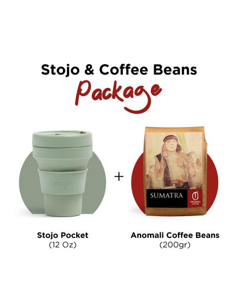 Stojo + 200gr Coffee Beans