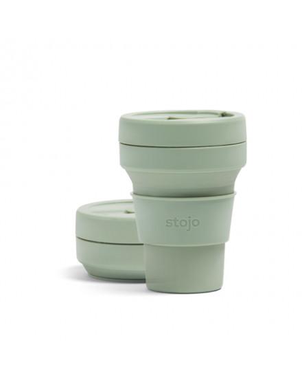 Stojo Pocket Cup 12 Oz-Sage