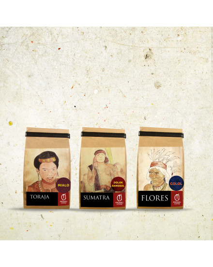 Package CoffeeBeans@100gr 3pck